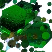 スターライト ホログラム メタルグリーン